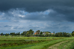 20160904-Canon EOS 6D-9958 (Bartek Rozanski) Tags: driebruggen zuidholland netherlands sky cloud rain rural greenheart groenehart polder house holland dutch