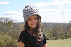 (ckbayne) Tags: sister hair curly hat winter cold autumn fall seasons focused sun warmth cool crisp photography