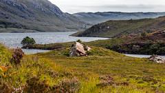 Loch Lurgainn Coigach (Matthias-Hillen) Tags: scotland schottland united kingdom uk grosbritanien matthias hillen matthiashillen landschaft landscape green grn felsen rock rocks coigach gebirge mountain berge loch lurgainn