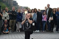 Street Performer, Edinburgh (Secondcity) Tags: edinburgh streetperformer edinburghfestivalfringe