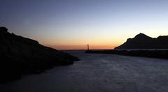 2016_09_15 Portman Faro (2) (Voro Serra Santamaria) Tags: murcia voroserra cubitera naturaleza paisaje mar agua mediterraneo playa noche cielo hiperfocal