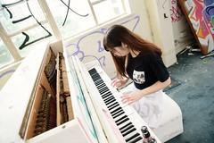 Lonely Sonata (KAY_Law a_a) Tags:  natural hkiggirl hkig  mk ruins 852 badgirl  piano   urbex  hkurbex 852ig cosplay 852girl mk sportgirl hongkong heart  love hkruins hkgirl   ighk