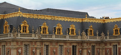 Golden Roof Tops at Versallies (big_jeff_leo) Tags: paris louis versailles palace architecture gold heritage building statelyhome historic art ceiling fresco imperial unesco hallofmirrors french royal