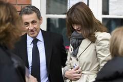 Sarkozy soundly defeated in primary (brucesflickr) Tags: sarkozy nicolassarkozy carlabrunisarkozy