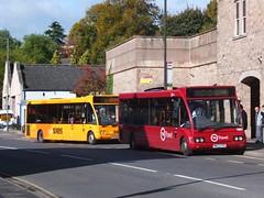 TM Travel 1160 Matlock (Guy Arab UF) Tags: tm travel 1160 mw52pzd optare solo m920 bus matlock derbyshire wellglade group buses go west kings lynn wellgladegroup