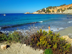 Cala d'Hort (anbri22) Tags: anbri caladhort ibiza playa beach colors sea mare spiaggia autumn one landscape baleares