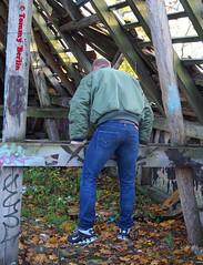 self3110 (Tommy Berlin) Tags: men jeans levis bomberjacke alphajacke butt ass ars