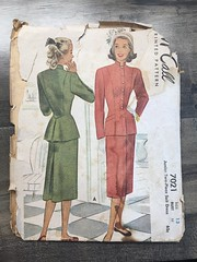 7021 (mrogers1@uw.edu) Tags: 1940s suit dress skirt jacket blouse mccalls mccall