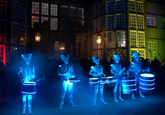 Spark Drummers at Astley Hall - 18 (Tony Worrall) Tags: outside cold annual new north northwest lancs lancashire england northern uk update place location visit area county attraction open stream tour country welovethenorth unitedkingdom lit light music musical led drummers sparkdrummers worldbeatersmusic drum thumb movement dance sounds chorley night evening dark astleyhall brilliant shine spark