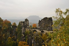 Bastei bridge (Art De Vero) Tags: bastei bridge brucke germany travel traveling traveladdict travelabroad photoaddict nature autumn