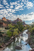 The Watchman (Ralph Earlandson) Tags: watchman zion utah river virgin clouds nationalpark zionnationalpark desert coloradoplateau droh dailyrayofhope2017