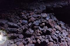 a lot of rocks (sixthofdecember) Tags: travel europe iceland snfellsnes vatnshellir cave vatnshellircave nikon nikond5100 tamron tamron18270 underground rock rocks dark darkness