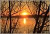 Coucher de soleil hivernal sur la Garonne (Les photos de LN) Tags: coucherdesoleil sunset hivernal nature paysage fleuve garonne aquitaine bordeaux sudouest lumière couleurs nuances
