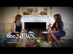 Michelle Obama Welcomes Melania Trump to White House (Download Youtube Videos Online) Tags: michelle obama welcomes melania trump white house