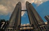 Petronas twin towers  (Malaysia) (Rajavelu1) Tags: kolalambur malaysia twintower architecture tallbuildings bluesky art aroundtheworld creative canon60d outdoorphotography streetphotography