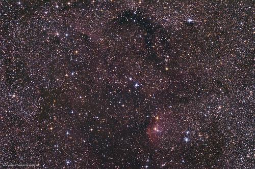 Dunkelnebel im Sternbild Schwan