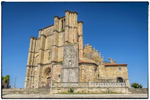 Iglesia de Santa María de la Asunción, Castro Urdiales. Cantabria, España
