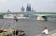 Köln (Pierre♪ à ♪VanCouver) Tags: rhineriver cologne rhin liliane koeln köln germany allemagne deutschland deutzerbrücke
