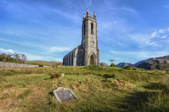 Old Dunlewey Church & Graveyard - Donegal (Gareth Wray - 9 Million Views - Thank You) Tags: mount errigal mountain famous derryveagh mountains landscape view gweedore county donegal ireland irish countryside nature heather mts mt gareth wray photography strabane nikon d810 lens landmark tourist tourism location visit sight site dunlewey church chapel poison poisoned glen valley grassy summer sheep old moor day photographer vacation holiday europe outdoor grassland sky wild ruin abandoned derelict atlantic way arduns 1424mm nikkor sacret heart eire haunted balor giant giants head field
