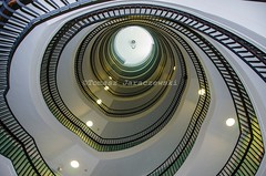 Staircase (tomasz_jaraczewski) Tags: stairs steps staircase architecture block building apartment flat spiral winding