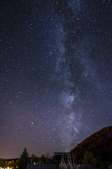 Shooting Star (Lolo_) Tags: shooting start etoile filante voie lactee milky way night nuit long exposure pose longue puy volcan parc naturel rgional auvergne france menoire menet cantal
