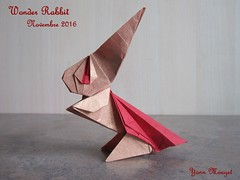 Wonder Rabbit (Origaiku) Tags: origami lapin rabbit bunny