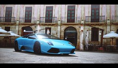 Murcielago (Thomas_982) Tags: gt5 gt6 cars auto lamborghini murcielago italy ps3 gran turismo city blue sicily syracuse