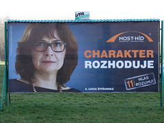 Predvolebná kampaň 2016 (Bratislava Nakrivo) Tags: volby voľby 2016 predvolebna kampan kampaň billboard billboardy nrsr narodna rada parlament most hid híd charakter zitnanska žitňanská
