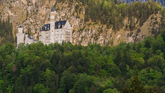 Neuschwanstein Castle (Josiane . On&Off) Tags: neuschwanstein castle mountains germany outdoor d750 nikon fussen europe tamron70200 bavaria trees