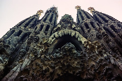 Sagrada Família 1966 (JiPiR) Tags: barcelona cataluna esp espagne sagradafamília