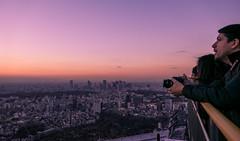 Sunset of Roppongi Hills (sapphire_rouge) Tags:      tokyotower roppongihills japan skyscraper roppongi twilight sunset darkness