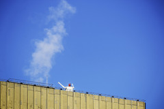 All hail the king of steam (tootdood) Tags: canon70d manchester arndalecentre hail king steam blue sky