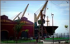 Porto Maravilha - Praça Mauá. (o.dirce) Tags: porto navio embarcação portomaravilha riodejaneiro armazéns odirce cidademaravilhosa