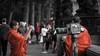 Tibetan Selfie Style (Brown's pic) Tags: tibet monk orange londn uk englan canon tamron trip momen