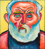 The Gardener (Der Gärtner), 1912 (Jonathan Lurie) Tags: oil painting cardboard art museums modern museum wisconsin mam alexei jawlensky milwaukee alexeijawlensky artinmuseums milwaukeeartmuseum milwaukeewisconsin modernart oilpainting oiloncardboard unitedstates us