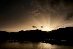 Tramonto a La Spezia (Alessio Rodin) Tags: cruise ship nave crociera diadema costa italia savona la spezia mare tramonto sunset