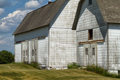 Barns - No. 1 (Redux), Ridgeway, MI, June, 2012 (Norm Powell (napowell30d)) Tags: photography normpowell usa trip napowell30d travel canon7d painterly