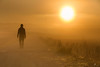 Autumn fog by iurgi inda (iurgi.) Tags: autumn fog niebla otoño autorretrato selfportrait sol sun camino path walking iurgi inda