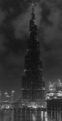 Burj Khalifa (Jacʞ) Tags: nikon d7100 dubai 2016 black white burj khalifa
