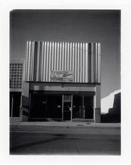 Tucumcari, NM (moominsean) Tags: polaroid 190 instant fuji fp3000b newmexico tucumcari southwest downtown sunrise midcentury trophymasters