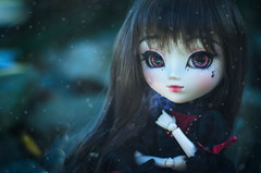 The cold (0ctavie) Tags: pink snow cold dolls little full planning groove pullip neige lovely custom tsuki froid custo jun rida azazelle