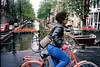 Bloem Gracht (bingley0522) Tags: amsterdam canal bicycles olympusxa jordaan bloemgracht portra160