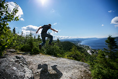 Nothing but air. (charlotte.buckle) Tags: canon newfoundland bay outdoor lookout hills explore cooks cornerbrook