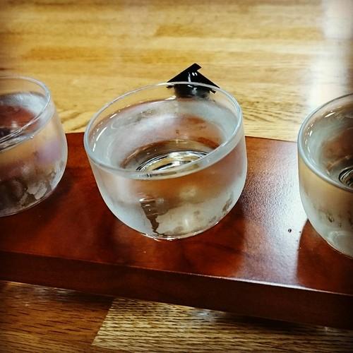 青森の地酒お試しセット。