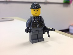 Hauptmann Hans Hinkel (ranger3181) Tags: world 2 two brick infantry germany army war lego painted nazi ss mining collection equipment german figure ww2 second soldiers guns uniforms custom weapons wehrmacht waffen brickarms 7toys7 citizenbrick