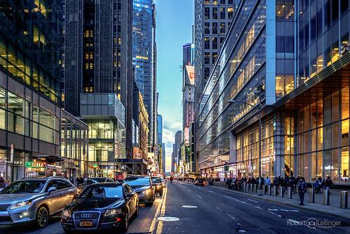 New York Street Shot