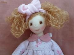 Eperke (Vikacat) Tags: bunny toy doll handmade pyjamas eperke vikacat