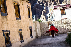 A monk in the Tabo Monastery (marcusfornell) Tags: india asia asien monk buddhism tibet monastery himalaya indien tabo himachalpradesh southasia spitivalley sdasien