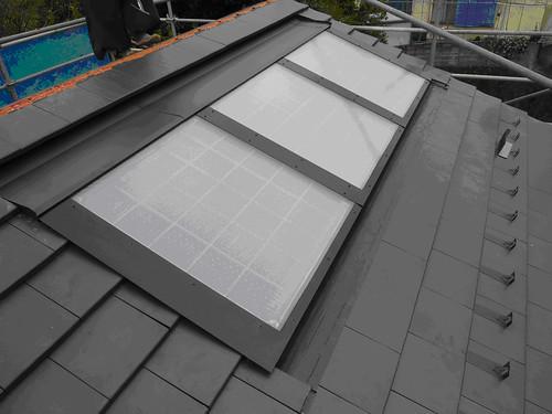高効率太陽熱ソーラーシステム「サンキュート」の写真