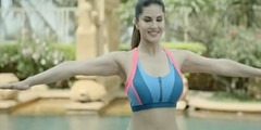 Sunny Leoni now will make your morning refreshed, view video (BharatavarshaNews) Tags: video exercise launched youtube sunnyleone bollywoodactress fitnessdvd superhotsunnymornings sunnysunnyworkoutsong